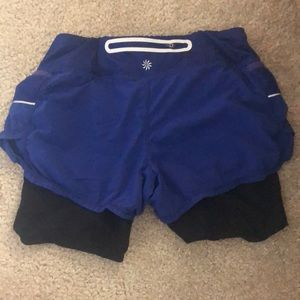 Athleta work out shorts